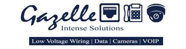 Gazelle Intense Solutions , Gazelle IS , Low Voltage Cabling , Security Cameras , Tech Support , Fiber Optics , Wiring , VOIP
